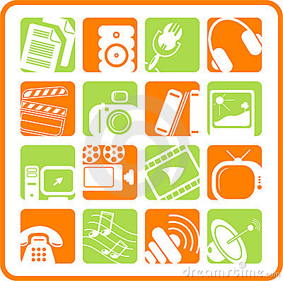 Free Icons Stock Photography - 2322012