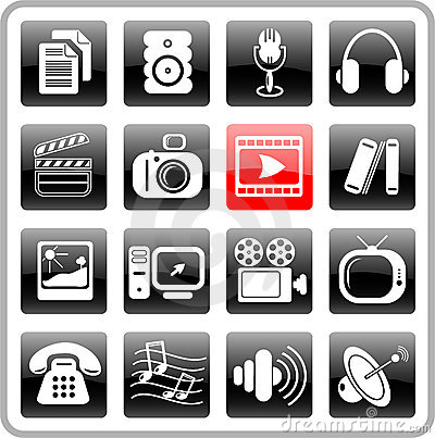 Free Icons Stock Photos - 2322013