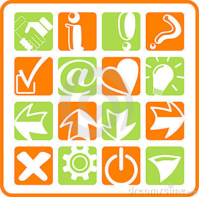 Icons Stock Photo - Image: 2322570