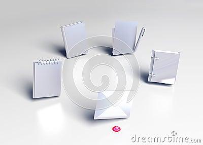 Icons 3d model