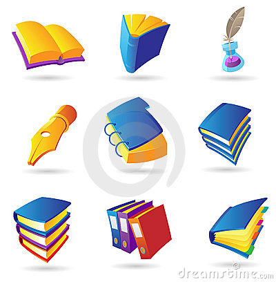 Icons for books