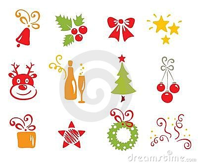 Icons - Christmas and New Year