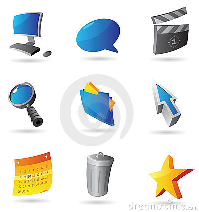 Icons for computer interface