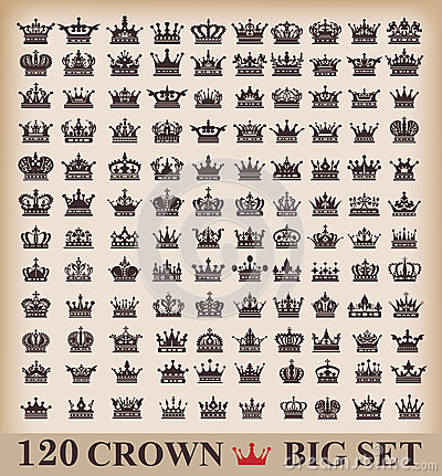Free Icons Crown Vector Royalty Free Stock Photo - 36314705
