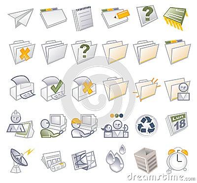 ICONS - Folders & media