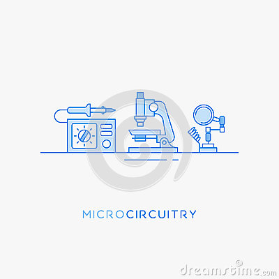 Free Icons For Micro-circuitry. Stock Photography - 74346342