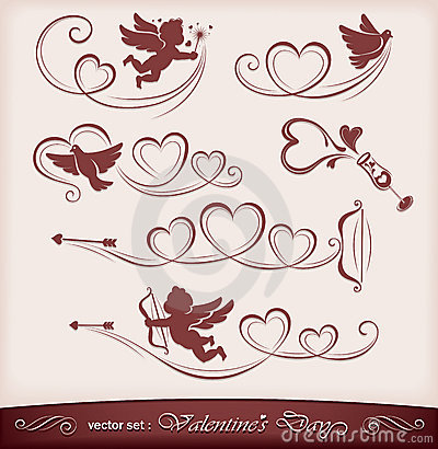 Free Icons For Valentine S Day Royalty Free Stock Images - 23191169