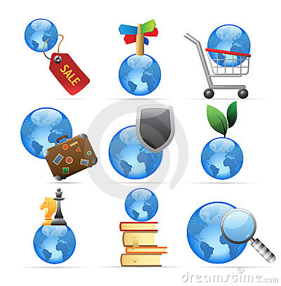 Icons for global concepts