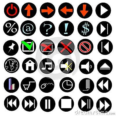 Icons internet