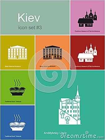 Icons of Kiev