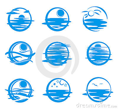 Free Icons Of Sea. Stock Images - 7271444