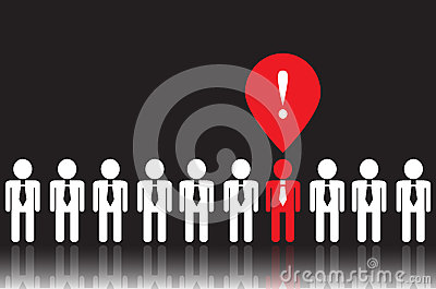 Icons of people and business ideas