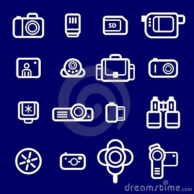 Icons Photo devices