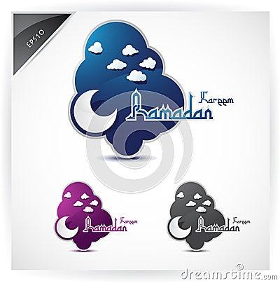 Icons for Ramadan