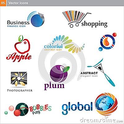 Free Icons Set Royalty Free Stock Photos - 18020668