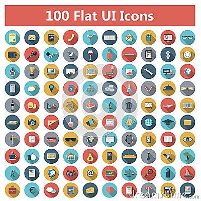Free Icons Set Stock Photo - 42075210