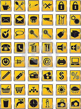 Icons set  for design vector illustration
