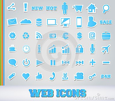 Icons Set for Web Applications