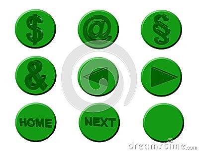 Icons, symbols,