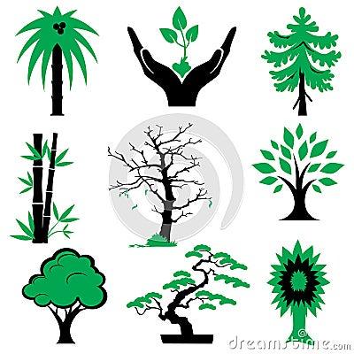 Icons trees