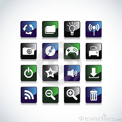 Icons for Web Applications.