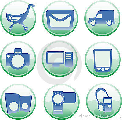 Iconset for e-shop