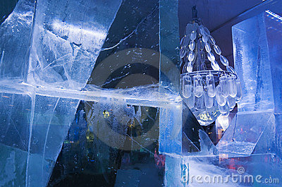 Icy Chandelier