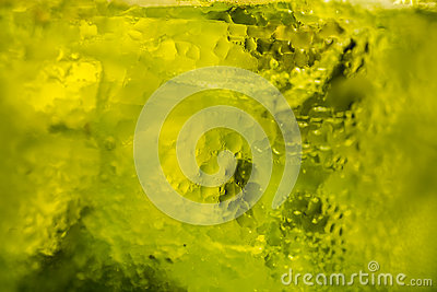Icy cold green background