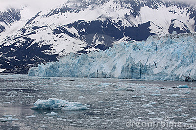 Icy Hubbard Bay and Glacier, Alaska