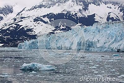 Icy Hubbard Bay and Glacier, Alaska