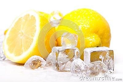 Icy lemons