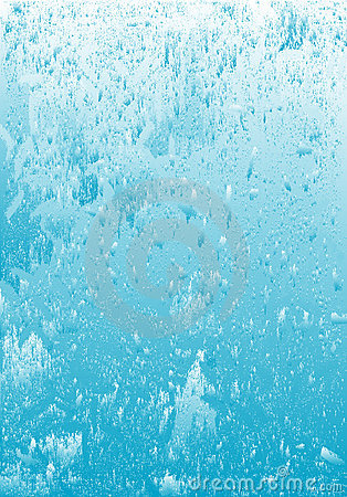 Icy water grunge background