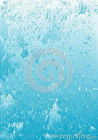Icy water grunge background