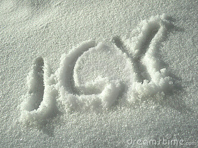 Icy written in white snow