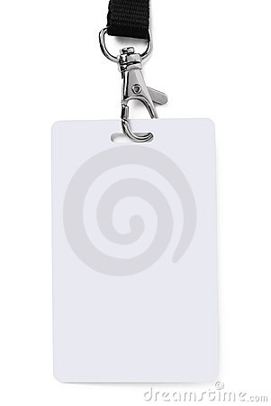 Free ID Badge Stock Photography - 8701412