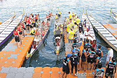Hong Kong :IDBF Club Crew World Championships 2012 Editorial Image