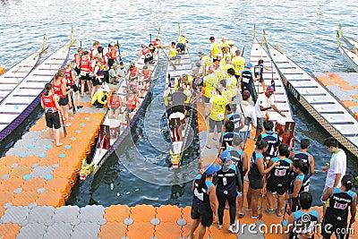 Hong Kong :IDBF Club Crew World Championships 2012 Editorial Image