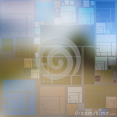 Free Idea Background Of Multicolored Squares And Rectangles Stock Photos - 46581573
