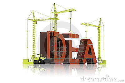 Idea building creativity inventions ideas
