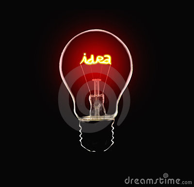 Free Idea Lamp Stock Image - 13856361