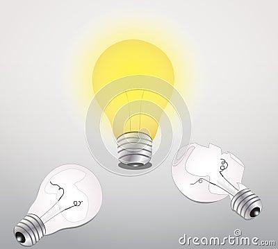 Idea lamp