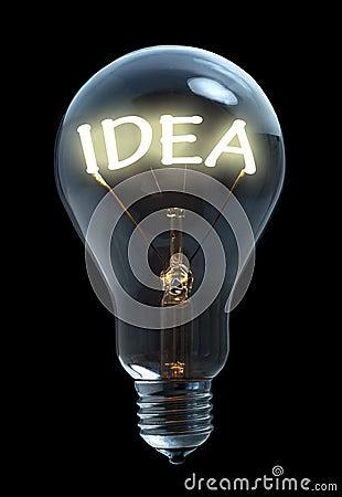 Free Idea Light Bulb Stock Image - 20027761