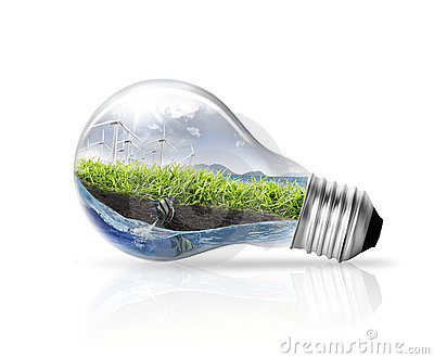 Idea ,light bulb
