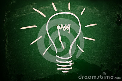 Idea lightbulb