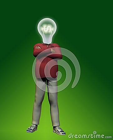 Idea Man with $