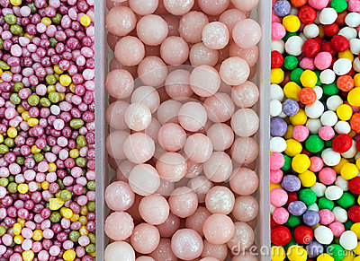 Cake Decorating Sugar Balls : Sugar Ball Sweet Cake Decorations Aka Sprinkles - Stock ...