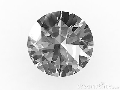 Ideal Round Diamond Stone