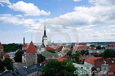 Ideia do centro de Tallinn