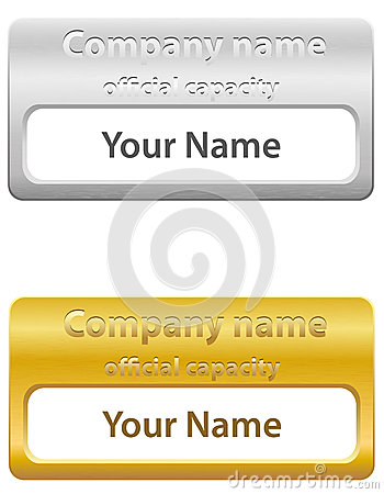 Identification card vector illustration