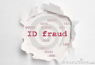 Identifikation-Betrug